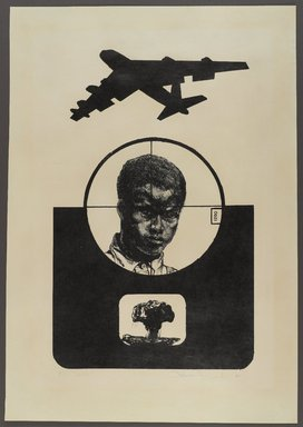 Ben Hazard (American, born 1940). 1200, 1967. Lithograph on paper, sheet: 24 1/2 x 17 in. (62.2 x 43.2 cm). Brooklyn Museum, Gift of R.M. Atwater, Anna Wolfrom Dove, Alice Fiebiger, Joseph Fiebiger, Belle Campbell Harriss, and Emma L. Hyde, by exchange, Designated Purchase Fund, Mary Smith Dorward Fund, Dick S. Ramsay Fund, and  Carll H. de Silver Fund, 2012.80.14. © Ben Hazard