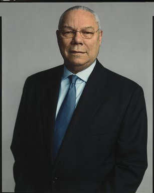 Timothy Greenfield-Sanders (American, born 1952). Colin Powell, 2007. Inkjet print, 58 x 44 in. (147.3 x 111.8 cm). Brooklyn Museum, Gift of Michael Sloane, 2013.54.3. ©Timothy Greenfield-Sanders