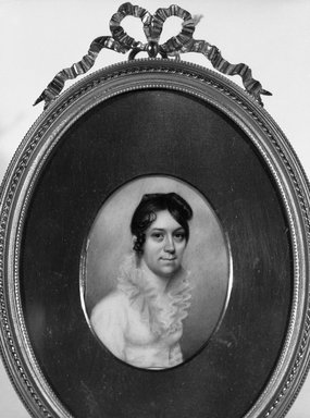 Brooklyn Museum: Portrait of a Lady of the Brasher Family