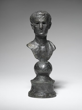 Roman. Portrait Bust of Emperor Caligula, ca. 2nd century C.E. Bronze, 5 5/8 in. (14.3 cm). Brooklyn Museum, Bequest of William H. Herriman, 21.479.12. Creative Commons-BY