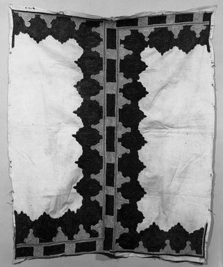 Pillow Cover, embroidered fragment. Silk on cotton Brooklyn Museum, Museum Expedition 1921, Robert B. Woodward Memorial Fund, 21.486.8. Creative Commons-BY