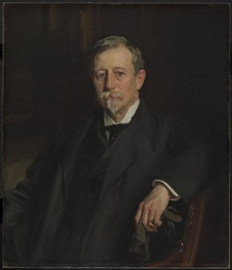 John Singer Sargent (American, born Italy, 1856-1925). Aaron Augustus Healy, 1907. Oil on canvas, 34 1/16 x 28 3/4 in. (86.5 x 73 cm). Brooklyn Museum, Bequest of A. Augustus Healy, 21.50