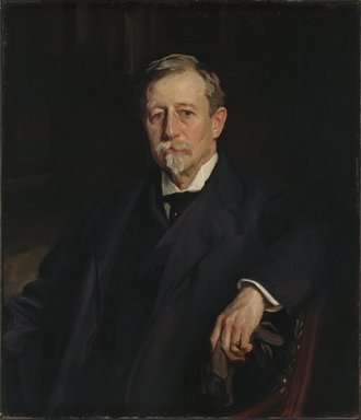John Singer Sargent (American, 1856-1925). Aaron Augustus Healy, 1907. Oil on canvas, 34 1/16 x 28 3/4 in. (86.5 x 73 cm). Brooklyn Museum, Bequest of A. Augustus Healy, 21.50