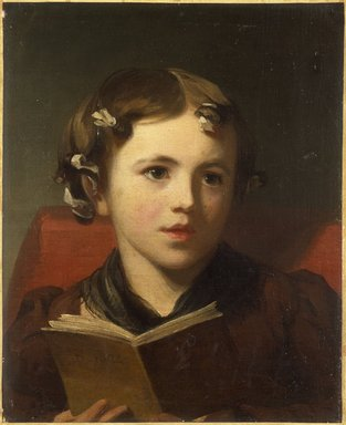 Thomas Sully (American, born England, 1783-1872). Portrait of a Young Girl, 1824. Oil on canvas, 16 3/4 x 13 11/16 in. (42.5 x 34.8 cm). Brooklyn Museum, Bequest of Samuel E. Haslett, 21.57