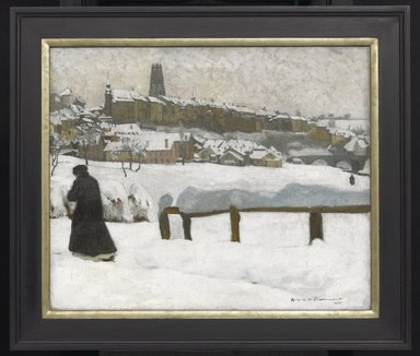 Brooklyn Museum: Freiburg in the Snow