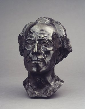 Auguste Rodin (French, 1840-1917). Gustav Mahler, 1909; cast between 1910-1914. Bronze, 13 3/8 x 11 x 9 3/4 in.  (34.0 x 27.9 x 24.8 cm). Brooklyn Museum, Ella C. Woodward Memorial Fund, 22.10. Creative Commons-BY
