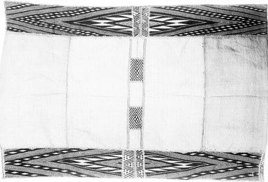 Mbuun. Raffia Cloth, 19th century. Raffia, 42 3/8 x 28 5/8 in. (107.5 x 74.0 cm). Brooklyn Museum, Museum Expedition 1922, Robert B. Woodward Memorial Fund, 22.1323. Creative Commons-BY