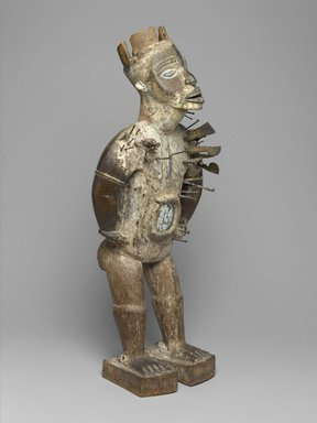 Brooklyn Museum: Power Figure (Nkisi Nkondi)