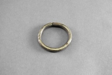 Small Engraved Bracelet. Iron Brooklyn Museum, Museum Expedition 1922, Robert B. Woodward Memorial Fund, 22.1544. Creative Commons-BY
