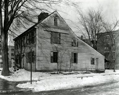 American. The Reuben Bliss House, ca. 1754-1755. Brooklyn Museum, Purchased with funds given by the Samuel E. Haslett Estate Fund and the Alfred T. White Fund, 22.1936. Creative Commons-BY