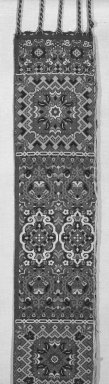 Brooklyn Museum: Woven Belts