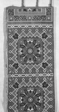 Woven Belts, 19th century. Silk twill, compound weave, 8 5/8 x 111 in. (21.9 x 281.9 cm). Brooklyn Museum, Museum Expedition 1922, Robert B. Woodward Memorial Fund, 22.1955.13. Creative Commons-BY