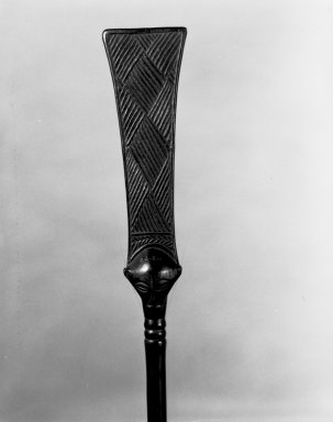 Brooklyn Museum: Ceremonial Staff (Kibango)