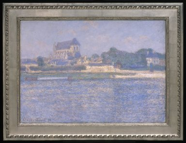 Claude Monet (French, 1840-1926). Vernon in the Sun (Vernon, soleil), 1894. Oil on canvas, 26 x 37 7/16 in. (66 x 95.1 cm). Brooklyn Museum, Purchased with funds given by Helen L. Babbott and Frank L. Babbott, 22.59