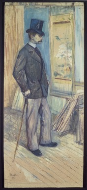 Brooklyn Museum: Portrait of M. Paul Sescau (Portrait de M. Paul Sescau)