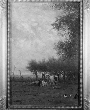 Jan Vrolyk (Dutch, 1845-1894). Dutch Landscape, n.d. Watercolor, Sheet: 20 11/16 x 14 1/8 in. (52.5 x 35.9 cm). Brooklyn Museum, Gift of George D. Pratt, 22.72