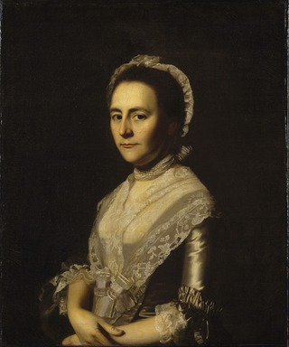 John Singleton Copley (American, 1738-1815). Mrs. Alexander Cumming, née Elizabeth Goldthwaite, later Mrs. John Bacon, 1770. Oil on canvas, 29 13/16 x 24 11/16 in. (75.7 x 62.7 cm). Brooklyn Museum, Gift of Walter H. Crittenden, 22.84