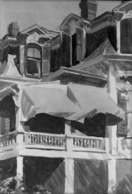 Brooklyn Museum: The Mansard Roof