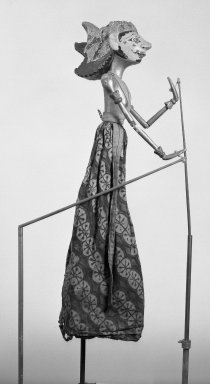 Puppet. Wood, 7 5/16 x 30 5/16 in. (18.5 x 77 cm). Brooklyn Museum, Brooklyn Museum Collection, 23.106. Creative Commons-BY