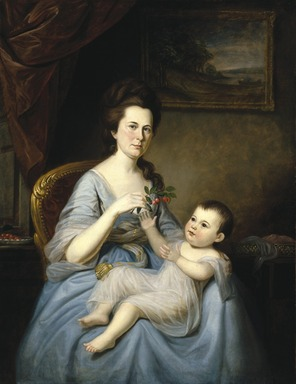 Brooklyn Museum: Mrs. David Forman and Child