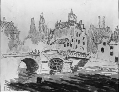 Brooklyn Museum: Bridge at Soissons