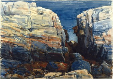 Brooklyn Museum: The Gorge, Appledore