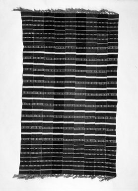 Cloth. Cloth, 48 1/16 x 88 9/16 in. (122 x 225 cm). Brooklyn Museum, Robert B. Woodward Memorial Fund, 24.148. Creative Commons-BY