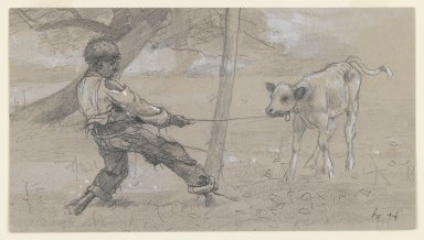 Brooklyn Museum: Study for