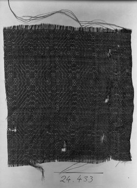 One Piece of Crimson Damask, 11th-12th century. Silk Brooklyn Museum, Gift of Dr. Meyer F. Reifstahl, 24.433. Creative Commons-BY