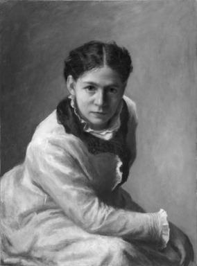 Jane E. Bartlett (American, active ca. 1872-1899). Sarah Cowell LeMoyne, 1877. Oil on canvas, 30 1/16 x 22 1/16 in. (76.4 x 56 cm). Brooklyn Museum, Gift of Mrs. A. Augustus Healy, 24.84
