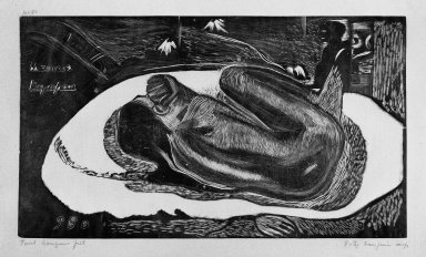 Brooklyn Museum: Manao Tupapau (Watched by the Spirits of the Dead)