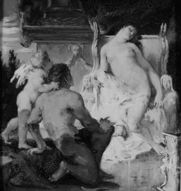 Sarah  Paxton Ball Dodson (American, 1847-1906). Venus, ca. 1880. Oil on canvas, 13 7/8 x 12 15/16 in. (35.2 x 32.8 cm). Brooklyn Museum, Gift of R. Ball Dodson, 25.523