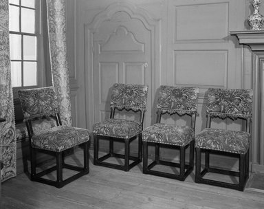 Two Side Chairs, ca. 1650. Oak, 38 x 20 x 16 3/4 in. (96.5 x 50.8 x 42.5 cm). Brooklyn Museum, 25.814.3. Creative Commons-BY