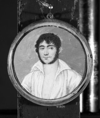 Brooklyn Museum: Portrait of a Young Man