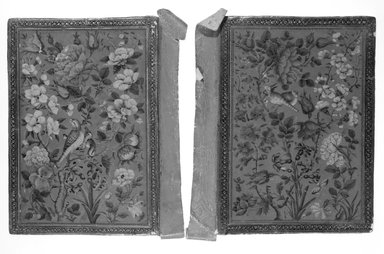 Book Binding, early 19th century. Lacquer on leather, 8 1/4 x 5 7/8 in. (21 x 15 cm). Brooklyn Museum, Museum Purchase Fund, 25.907