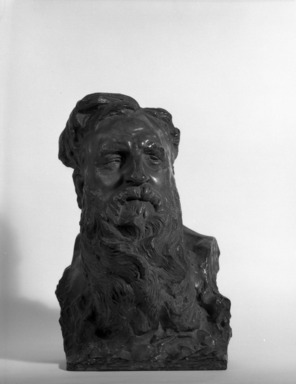Seraphin Soudbinine (Russian). Portrait of Auguste Rodin, 1909. Bronze, 16 3/4 x 12 3/4 x 12 in. (42.5 x 32.4 x 30.5 cm). Brooklyn Museum, Robert B. Woodward Memorial Fund, 25.912. Creative Commons-BY