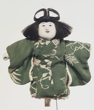 Doll, 19th-early 20th century. Clay, horsehair, 8 x 8 in. (20.3 x 20.3 cm). Brooklyn Museum, Museum Collection Fund, 25.918. Creative Commons-BY