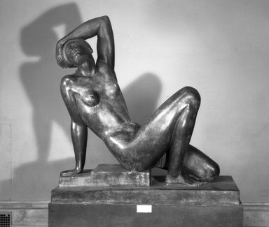 Maurice Sterne (American, born Latvia, 1877-1957). The Awakening, ca. 1926. Bronze, 65 1/2 x 62 x 26 in. (166.4 x 157.5 x 66 cm). Brooklyn Museum, Gift of Adolph Lewisohn, 26.157