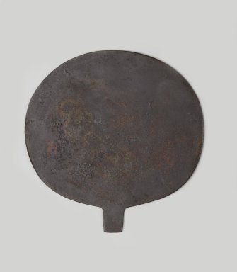 Mirror Disk, ca. 1938-1700 B.C.E. Copper, 4 3/16 x 4 1/8 in. (10.6 x 10.5 cm). Brooklyn Museum, Gift of the Egypt Exploration Society, 26.815. Creative Commons-BY