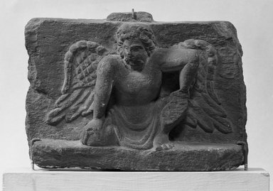 Brooklyn Museum: Small Bas-relief of an Atlantis