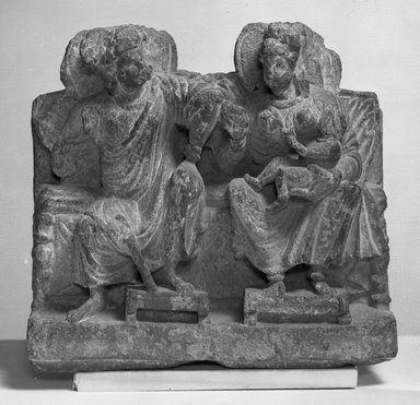 Brooklyn Museum: Small Relief of Hariti