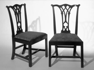 Sidechair, ca. 1775., 38 1/4 x 17 1/2 in. (97.2 x 44.5 cm). Brooklyn Museum, Henry L. Batterman Fund and Maria L. Emmons Fund, 28.258b. Creative Commons-BY