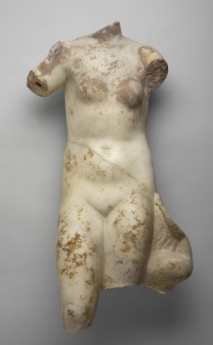 Greek. Torso of Aphrodite, 1st century B.C.E.-1st century C.E. Marble, 29 x 14 3/16 x 9 13/16 in. (73.7 x 36 x 25 cm). Brooklyn Museum, Gift of Frank Bailey, 28.277. Creative Commons-BY