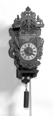 Brooklyn Museum: Painted Clock