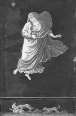 Pompeian Picture of Raphael's Hours (Arms Lowered), 19th century. Oil Brooklyn Museum, Bequest of Mary A. Brackett, 28.89