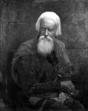 Thomas Martin Jensen (American, 1831-1916). The Russian Mendicant, 1878. Oil on canvas, 36 x 28 15/16 in. (91.4 x 73.5 cm). Brooklyn Museum, Bequest of Mary A. Brackett, 28.92