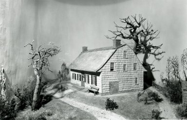 Nicholas Schenck. Nicholas Schenck House from Canarsie Park, ca. 1770-1775. Whole house Brooklyn Museum, Gift of the City of New York Parks and Recreation, 29.1283. Creative Commons-BY