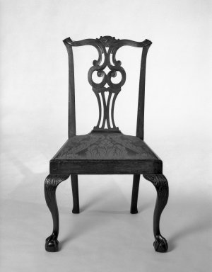 Chippendale Chair, ca. 1760. Brooklyn Museum, Museum Collection Fund, 29.1400. Creative Commons-BY