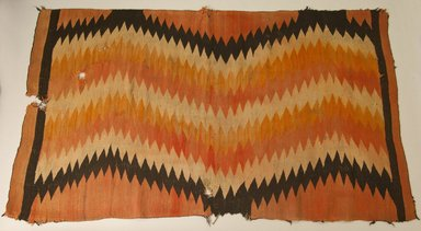 Navajo (Native American). Blanket, ca. 1880. Wool, dye, 41 x 72 in. (104.1 x 182.9 cm). Brooklyn Museum, Gift of John Condon, 30.1068.2. Creative Commons-BY