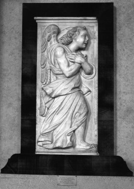 Giovanni Angelo Montorsoli (Italian, School of Florence, c. 1507-1563). Angels in Adoration. Marble, 31 1/2 x 15 inches each. Brooklyn Museum, Gift of Mrs. Frederic B. Pratt, 30.1102a-b. Creative Commons-BY